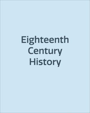 Eighteenth Century History