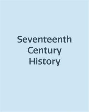 Seventeenth Century History
